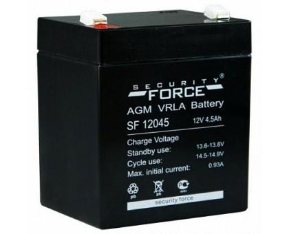 Аккумулятор 12В 4,5 А/ч Security Force
