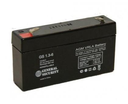 Аккумулятор 6В 1,3А/ч GS General Security