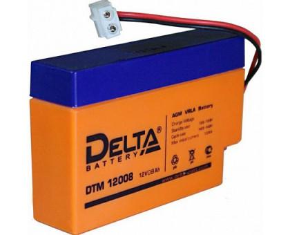 Аккумулятор 12В 0,8 А/ч Delta DTM 12008