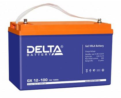 Аккумулятор 12В 100 А/ч Delta GX 12-100