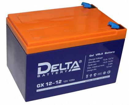 Аккумулятор 12В 12 А/ч Delta GX 12-12