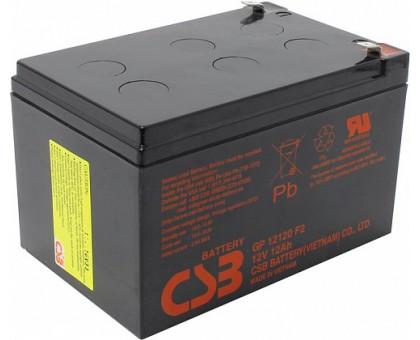 Аккумулятор 12В 12 А/ч GP 12120 F2 CSB