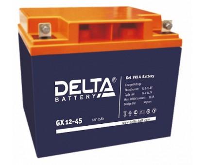 Аккумулятор 12В 45 А/ч Delta GX 12-45