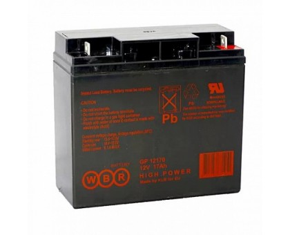 Аккумулятор 12В 17 А/ч GP 12170 WBR