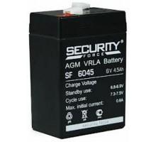 Аккумулятор 6В 4,5 А/ч Security Force