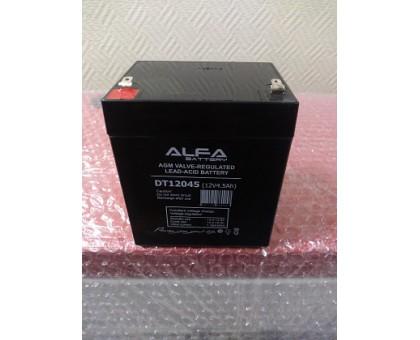 Аккумулятор 12В 4,5 А/ч ALFA DT 12045