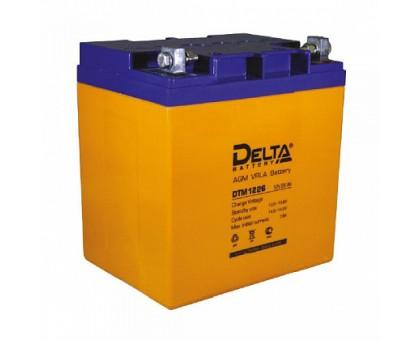 Аккумулятор 12В 26 А/ч Delta DTM 1226