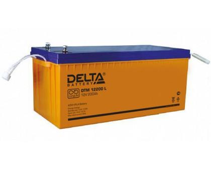 Аккумулятор 12В 200 А/ч Delta DTM 12200 L для котлов и насосов