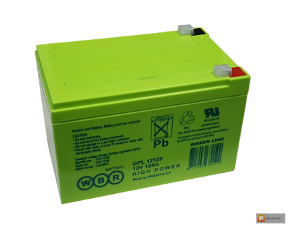Аккумулятор 12В 12 А/ч GPL 12120 WBR VN