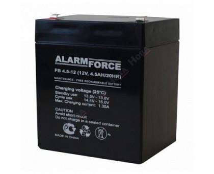 Аккумулятор 12В 4,5 А/ч FB Alarm Forse