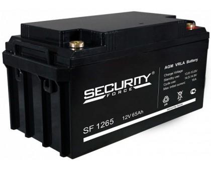 Аккумулятор 12В 65 А/ч Security Force