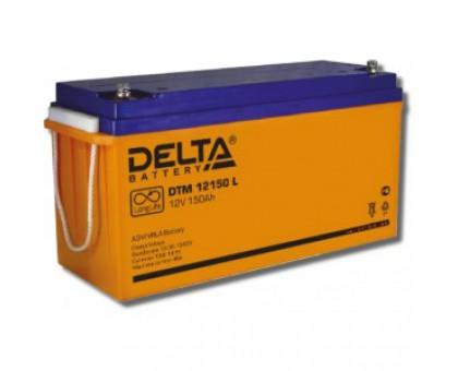 Аккумулятор 12В 150 А/ч Delta DTM 12150 L