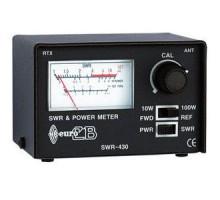 КСВ-метр 27мгц -  EURO CB SWR-430  (с измерителем мощности)