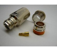 N-типа ВЧ коннектор N female пайка для кабеля RG 10dfb