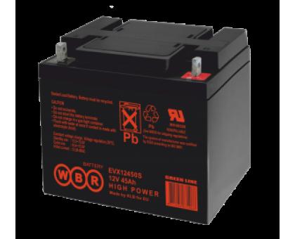 Аккумулятор 12В 45 А/ч WBR EVX12450 S