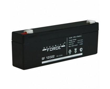Аккумулятор 12В 2,2 А/ч Security Force