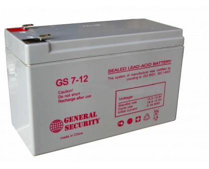 Аккумулятор 12В 7 А/ч GS General Security