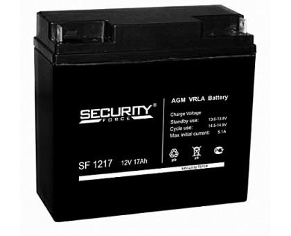 Аккумулятор 12В 17 А/ч Security Force