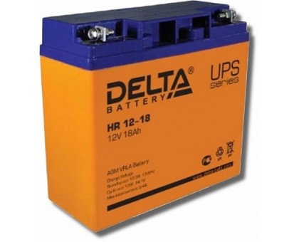 Аккумулятор 12В 18 А/ч Delta HR 12-18