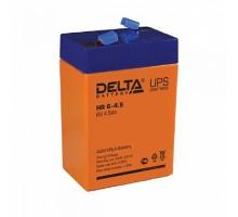 Аккумулятор 6В 4,5 А/ч Delta HR 6-4,5
