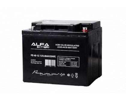 Аккумулятор 12В 40 А/ч ALFA FB 40-12