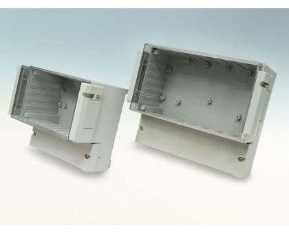 DC001CUL - герметичный корпус с откидной прозрачной крышкой Gainta